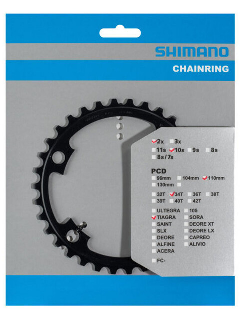 Shimano Tiagra FC-4700 Kettenblatt 10-fach schwarz